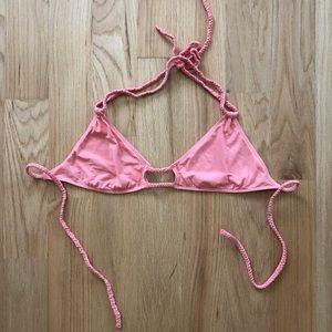 Frankie's Bikini's Braided Bikini Top in Medium